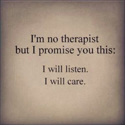 no therapist
